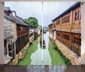 Scenic Jiangnan Curtain