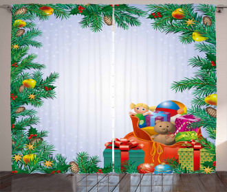 Childrens Toy Bag Curtain
