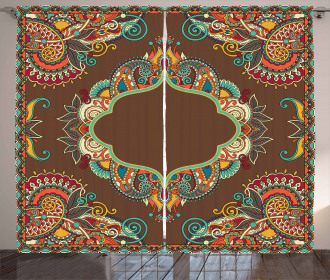 Ethnic Paisley Curtain