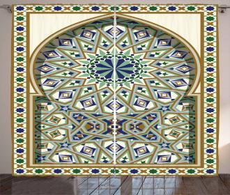 Arabic Arch Curtain