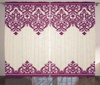 Rococo Spiral Curtain