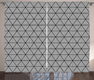 Nested Triangles Curtain