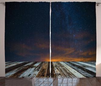 Andromeda Galaxy Curtain