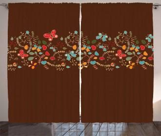 Valentines Day Design Curtain
