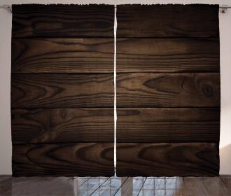 Vintage Hardwood Curtain