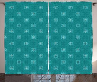 Timeless Orient Motifs Curtain