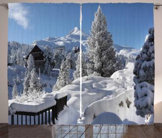 Winter Season in North Curtain