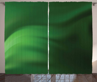 Green Ombre Effect Curtain