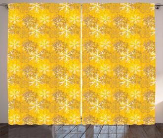Ornate Design Curtain