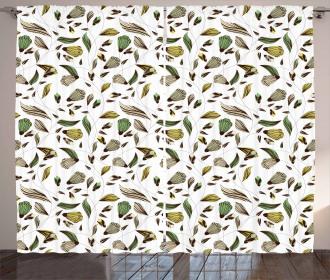 Autumn Nature Design Curtain