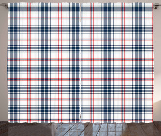 British Country Pattern Curtain