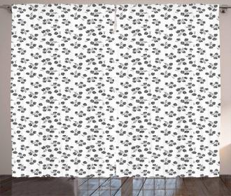 Chamomile Motif Curtain