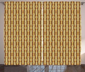 Oriental African Motif Curtain