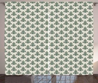 Timeless Medieval Motif Curtain