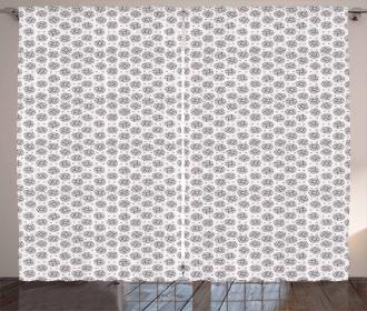 Ornate Shapes Curtain