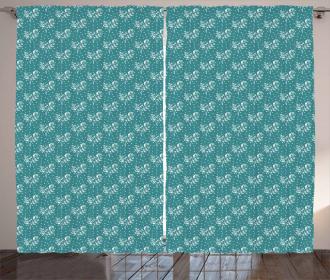 Abstract Dots Arrangement Curtain