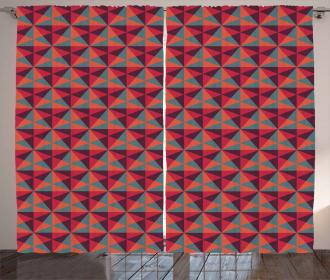 Triangles Mosaic Curtain