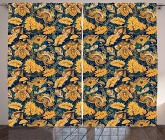 Medieval Exotic Garden Curtain