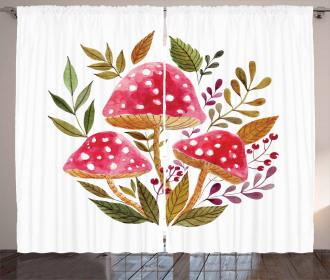 Watercolor Amantias Curtain