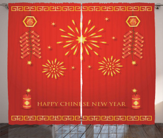 Lunar Oriental Festival Curtain