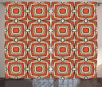 Squares Rhombuses Curtain