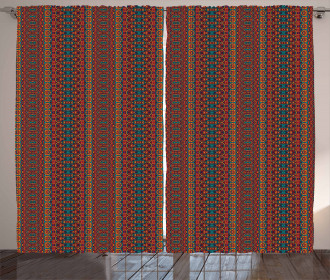 Indigenous Folklore Curtain