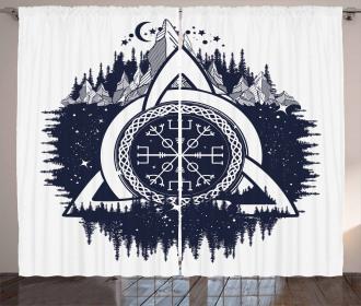 Celtic Knot Curtain