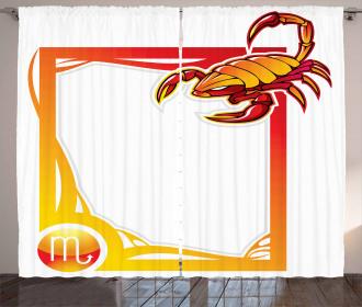 Artful Frame Curtain