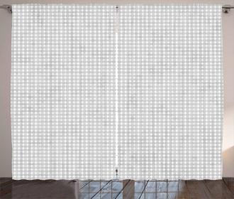 Small Polka Dots Pattern Curtain