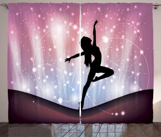 Magic Dance Fine Arts Curtain