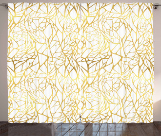 Abstract Exotic Curtain