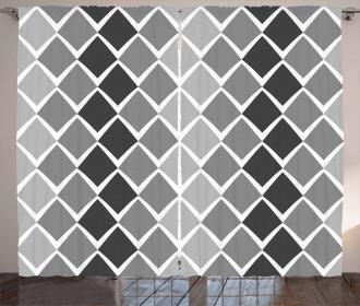 Geometric Ombre Curtain