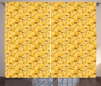 Squares Grid Curtain