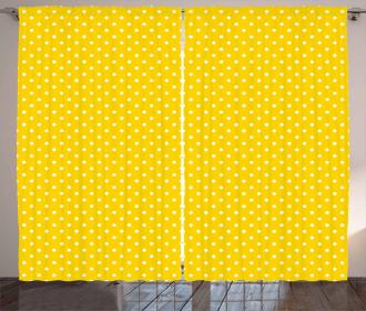 Europe Spotty Design Curtain