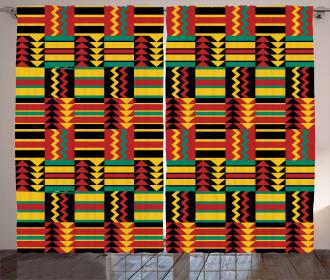 Ethnic Zimbabwe Curtain