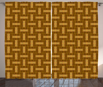 National Triangles Curtain