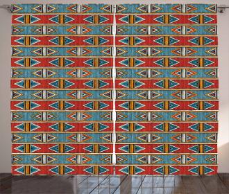 Tribal Cultural Curtain