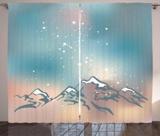 Milky Way and Himalayas Curtain