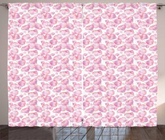 Rose Botanical Beauty Curtain