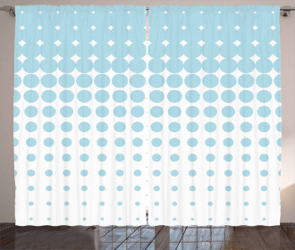 Vanishing Dots Curtain