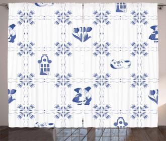 Dutch Culture Icon Curtain
