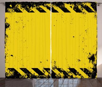 Hazard Caution Curtain