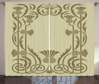 Botanical Exotic Curtain