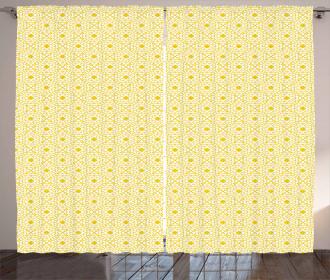 Brick Printed Texture Curtain