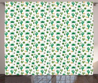 Desert Cactus Curtain