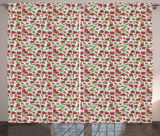 Pomegranate Motifs Curtain