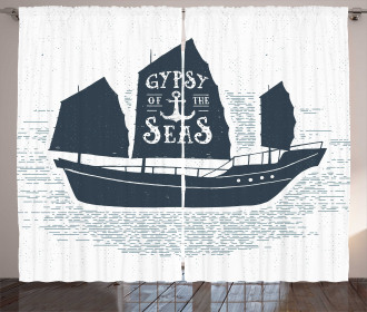 Gypsy of the Sea Curtain