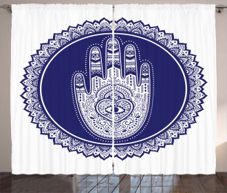 Middle Eastern Mandala Curtain
