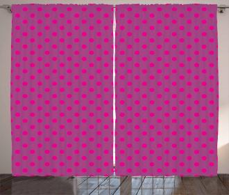 Traditional Circles Curtain