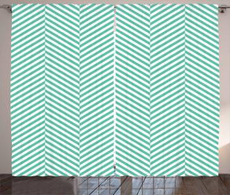 Geometric Pastel Curtain